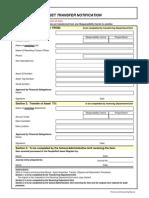 Asset Transfer Form