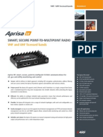 Aprisa SR Datasheet 1.3.0 English View