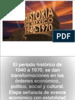 México 1940 q 1970