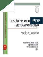 1. Diseño Del Proceso