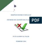 evaluacion DISEÑO INSTRUCCIONAL cuarta semana IVAN SANDOVAL
