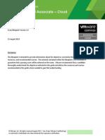VCAC510 Exam Blueprint Guide 1.0