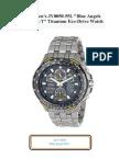 Citizen Men Brand, Seller Watch