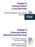 Chapter 8 Communication Networks and Services