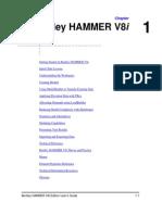 HAMMER V8i User's Guide