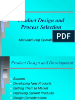 Product Process Design