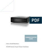 Cisco SG200-08P Admin Manual