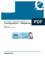 Config Telephony
