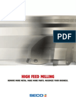 High Feed Milling by SECO