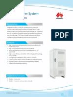 HUAWEI Outdoor Power System TP48200A-HT15B1 Datasheet