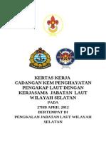 Kertas Kerja Program Pengakap Laut
