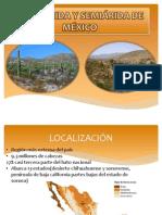 ZONA ÁRIDA Y SEMIÁRIDA DE MÉXICO