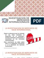 Investigacion de Mercados Internacionales