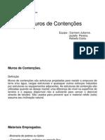 slide contenção