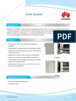 Wall-Mounted Power Datasheet
