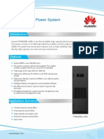 Huawei Large Capacity Power System TP482000B-L20B1 Datasheet