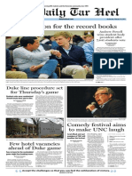 The Daily Tar Heel for Feb. 19, 2014