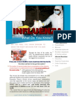 INFLUENZA INFLUENZA What Do You Know?