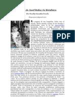 """""""El hijo de Stalin y la Metafísica"""" por Nicolás González Varela"""