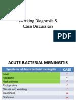 Meningitis Case Discussion