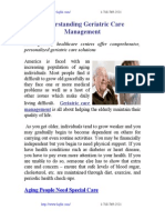 Understanding Geriatric Care Management