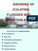 Presentation on Commissioning of CFBC Boiler