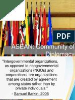 Diplomacy - Asean Ppt