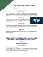 Acuerdo Registros Sanitarios Medicamentos