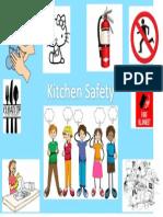 kitchen safety poster