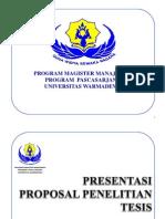 Sudiartha Presentasi Proposal