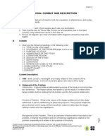 Research Paper Format & Research Proposal 1