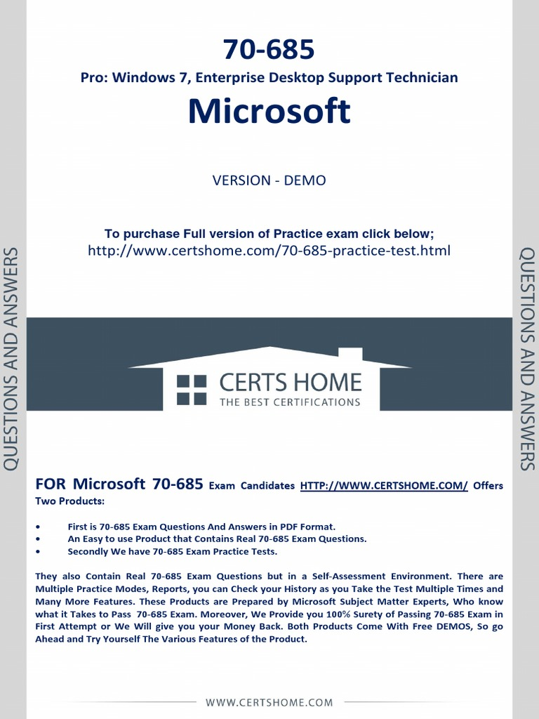 70 685 exam questions free pdf demopdf active directory group 70 685 exam questions free pdf demopdf active directory group policy 1betcityfo Image collections