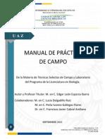 Manual de Prácticas de Campo en Biología. UACB -  2014
