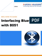 Interfacing Bluetooth With 8051
