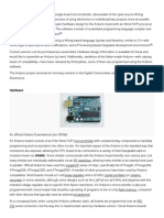 Arduino Integrated Development Environment