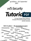 SOA Tag Geuer Pollmann WS Security