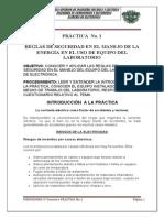 P_1 Reglas de Seguridad en El Manejo de La Energia Electrica y en El Uso Del Equipo Del Laborator