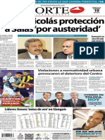 Periódico Norte edición impresa día 19 de febrero 2014