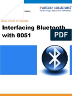 Interfacing Bluetooth With 8051 Trainer