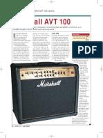 Marshall AVT100 Review