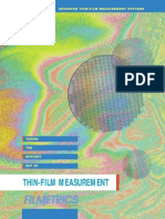 Filmetrics_advanced Thin Film Measurement