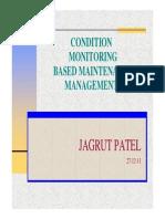 Condition Monitoring Based Maintenance Management