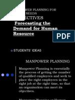 Manpower Planning