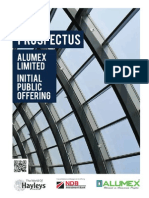Alumex prospectus on CSE site