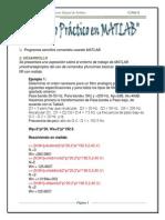 Practica 8 Matlab