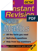 Gcse Mathematics Instant Revision2
