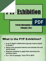 pyp final exhibition parent info  session 2013  2