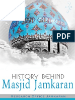 History Behind Masjid Jamkaran