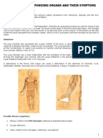 Meridians Organs Symptoms