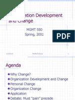 Org Dev Change
